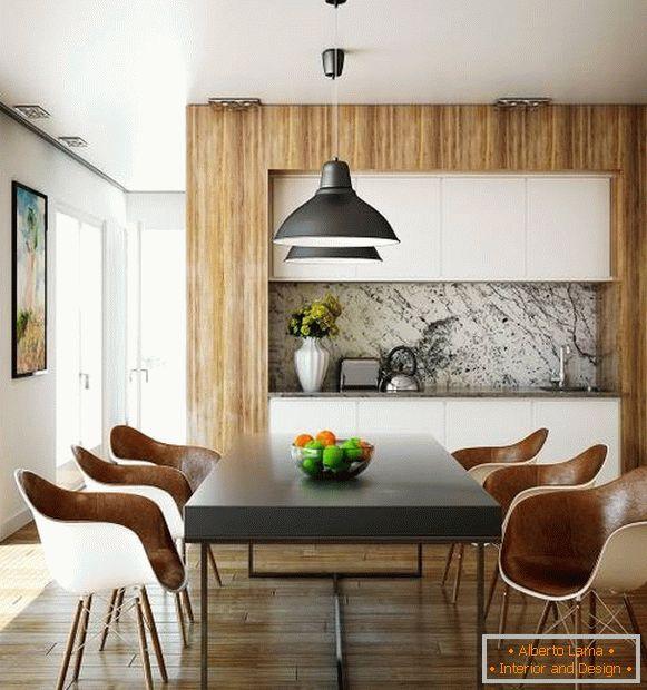 Модерни трпезариски маси и столови за ку�ната слика